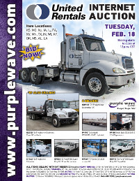View February 18 United Rentals Auction flyer