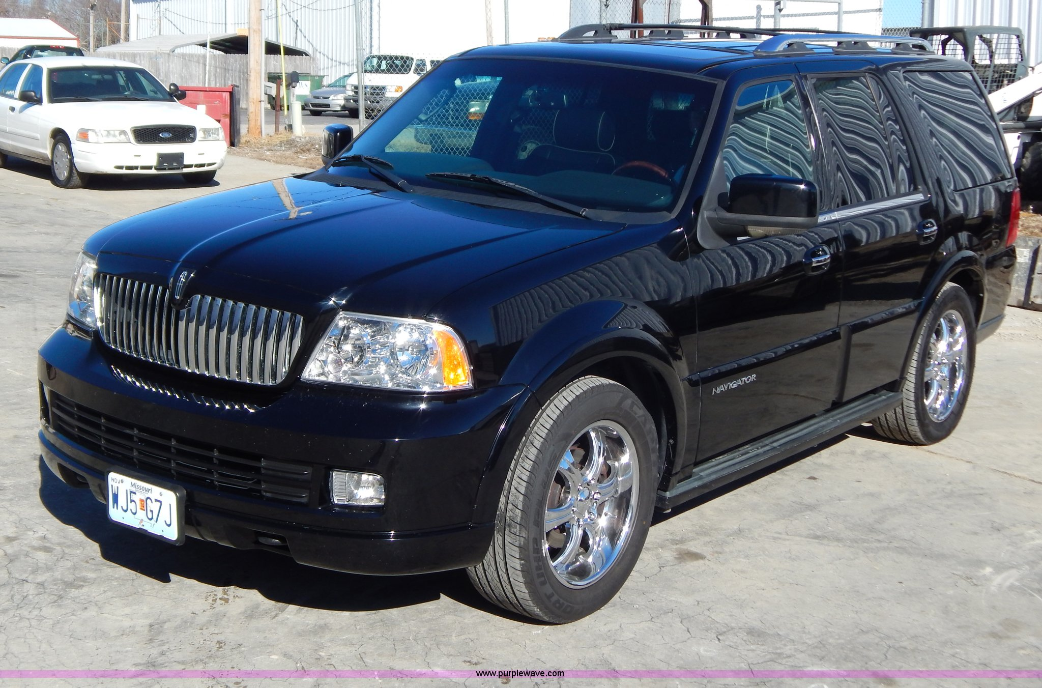 used lincoln parts navigator stock