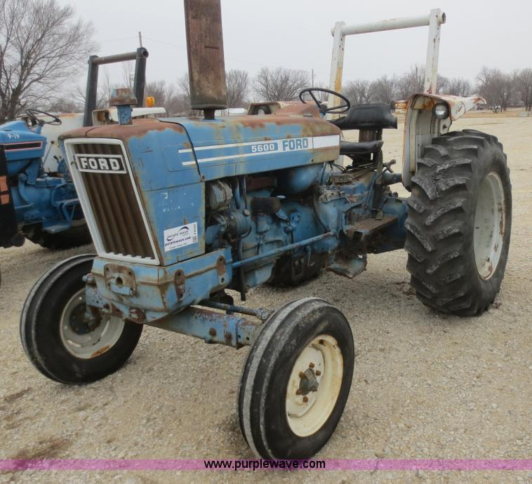 Ford 5600 Tractor : Ford tractor item f sold february ag