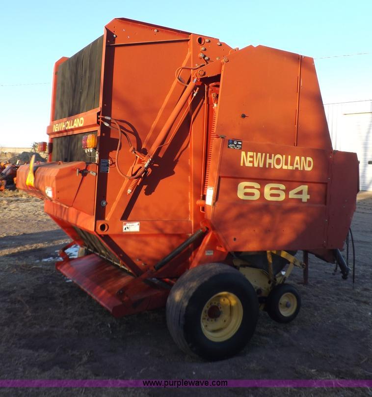 New Holland 664 baler | Item I9188 | SOLD! February 26 Ag Eq