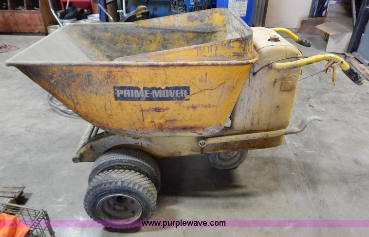 Prime Mover Georgia concrete buggy | Item I1244 | SOLD! Febr