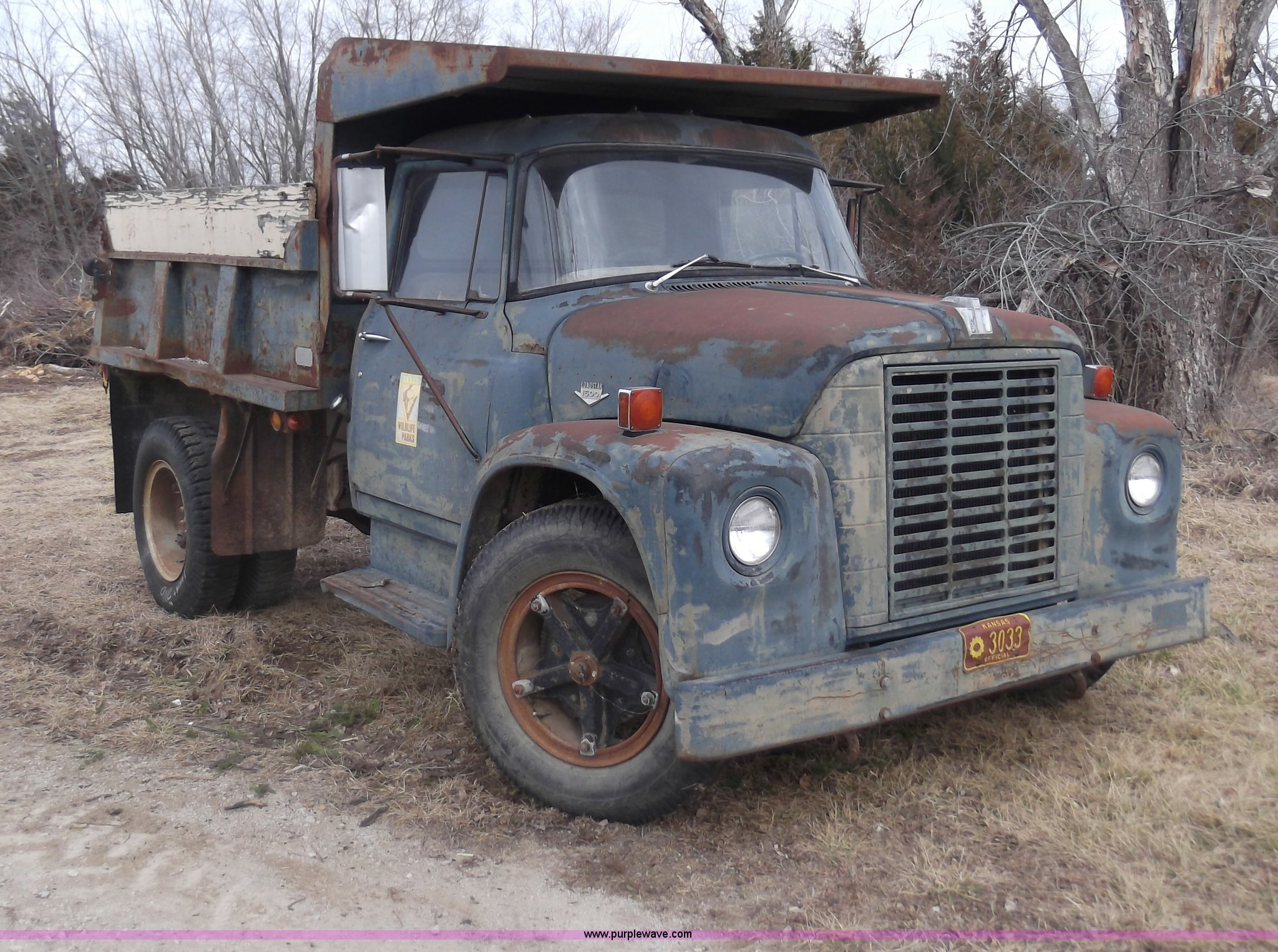 1971 International Loadstar 1600 Dump Truck Item C1762 S Ford Full Size In New Window