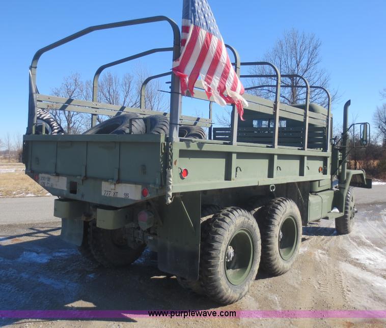1977 Am General M35A2 2 5 ton truck   Item F8018   SOLD! Mar