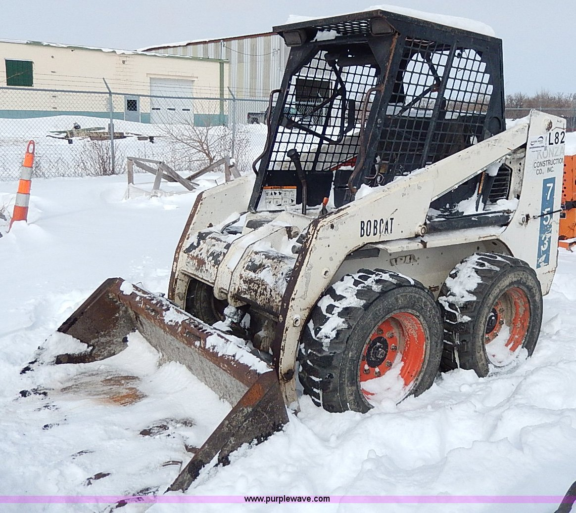 1996 Bobcat 753 skid steer | Item H1365 | SOLD! March 13 Con