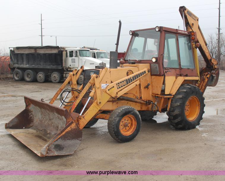The Edge At Olathe >> 1979 Case 580C backhoe | Item H1322 | SOLD! March 13 ...