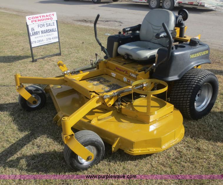 Hustler super z lawn mower