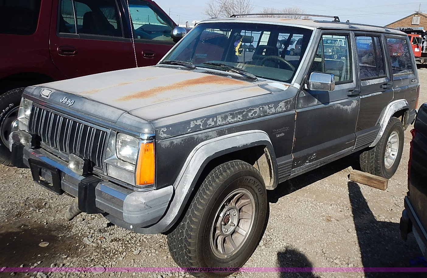 1990 Jeep Grand Cherokee Laredo Suv Item I9382 Sold Mar 90 Wiring For Trailer Image