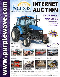 View March 20 Kansas Department of Transportation Auction flyer