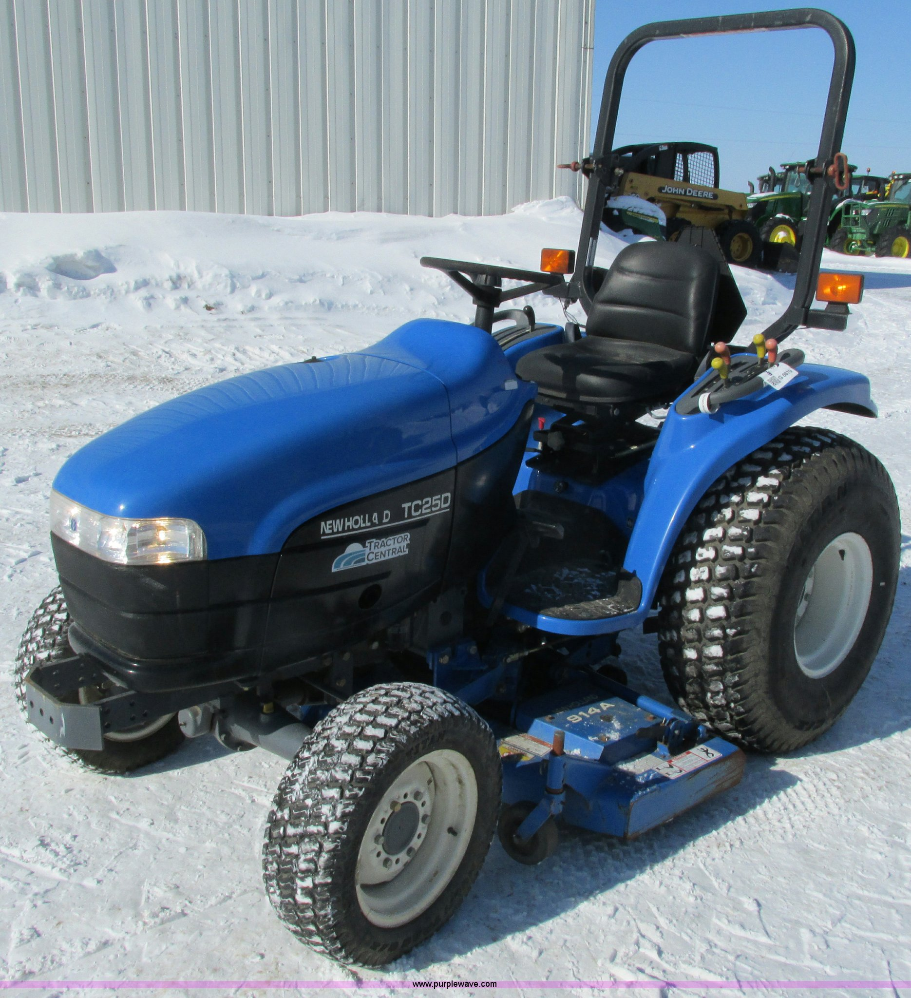 Good ... Holland TC25D MFWD Garden Tractor Full Size In New Window ... Great Ideas