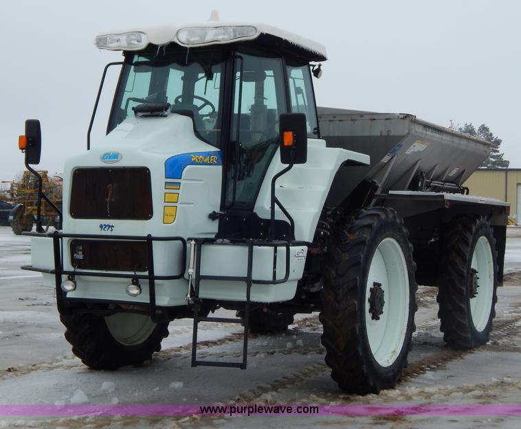 2009 Gvm Prowler 9275 Self Propelled Dry Spreader No