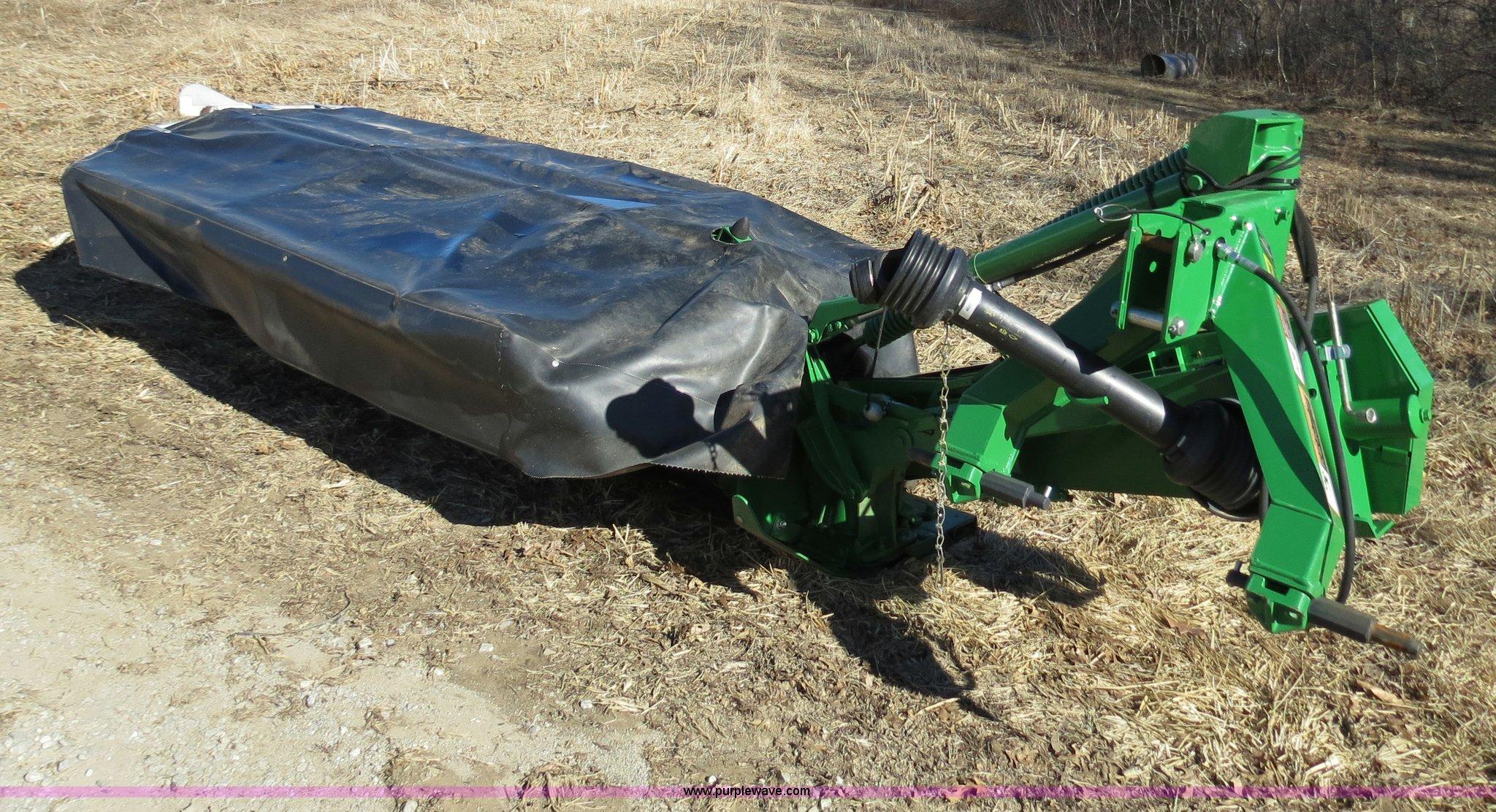 2012 John Deere 285 rotary disc mower   Item B4876   SOLD! M