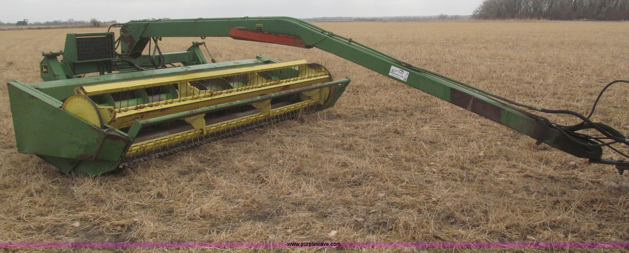 John Deere 1380 14' swather | Item F7296 | SOLD! March 26 Ag