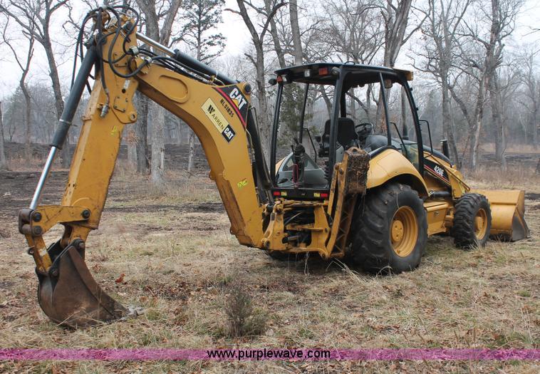 2007 Caterpillar 420E backhoe | Item H8403 | SOLD! March 27