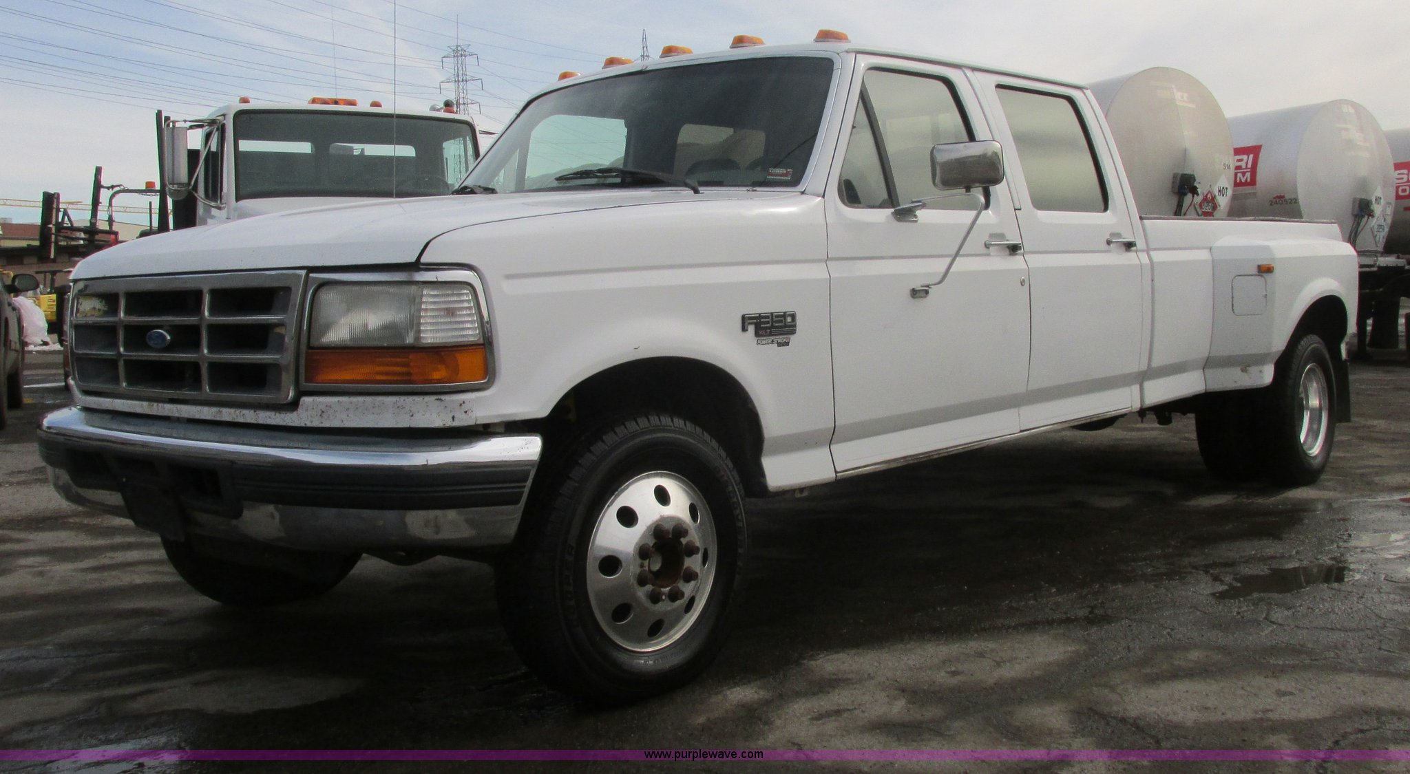1996 Ford F350 Xlt Pickup Truck Item H7730 Sold March 2