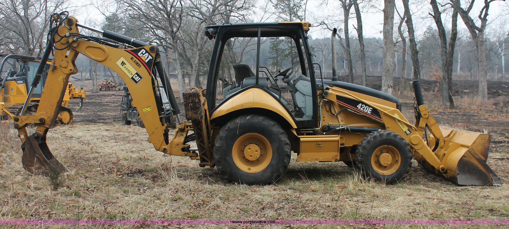 2007 Caterpillar 420E backhoe | Item H8403 | SOLD! March 27