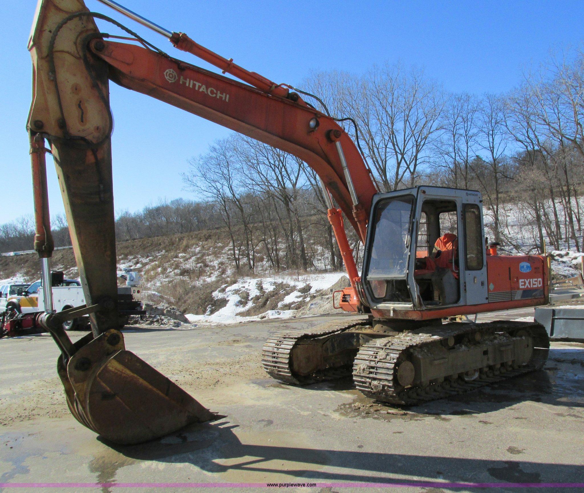 1994 Hitachi EX150 excavator | Item I4198 | SOLD! March 27 C