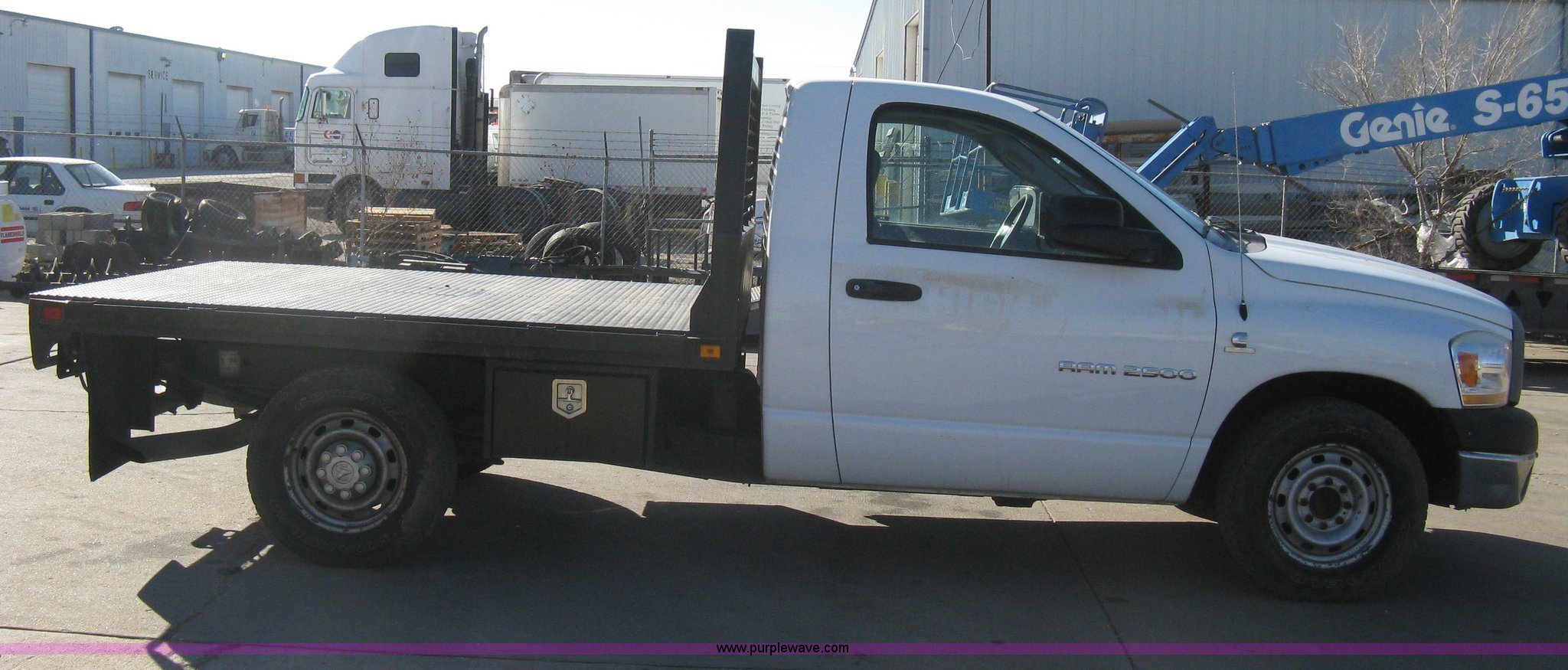 2006 Dodge Ram 2500 Flatbed Truck Item I5644 Sold March Full Size In New Window