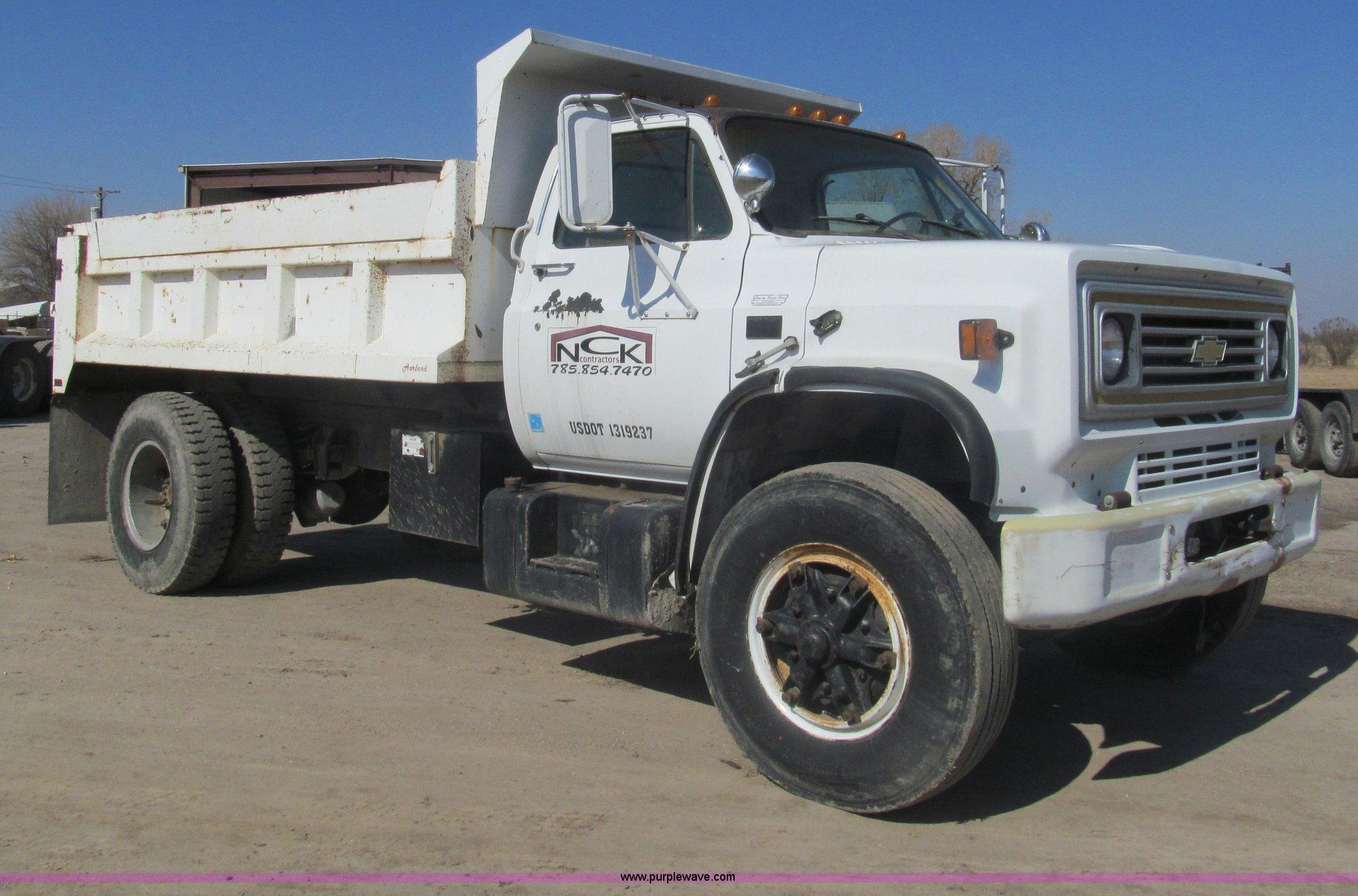 1988 Chevrolet Kodiak C70 dump truck | Item I7233 | SOLD! Ma