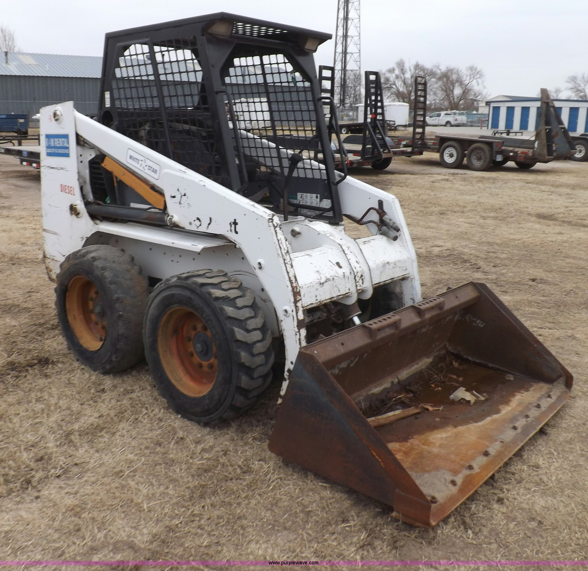 1995 Bobcat 753 Skid Steer Item I9116 Sold March 27 Con