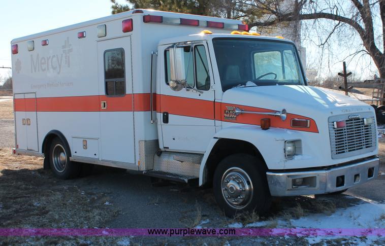 2000 Freightliner FL60 ambulance   Item H8289   SOLD! April