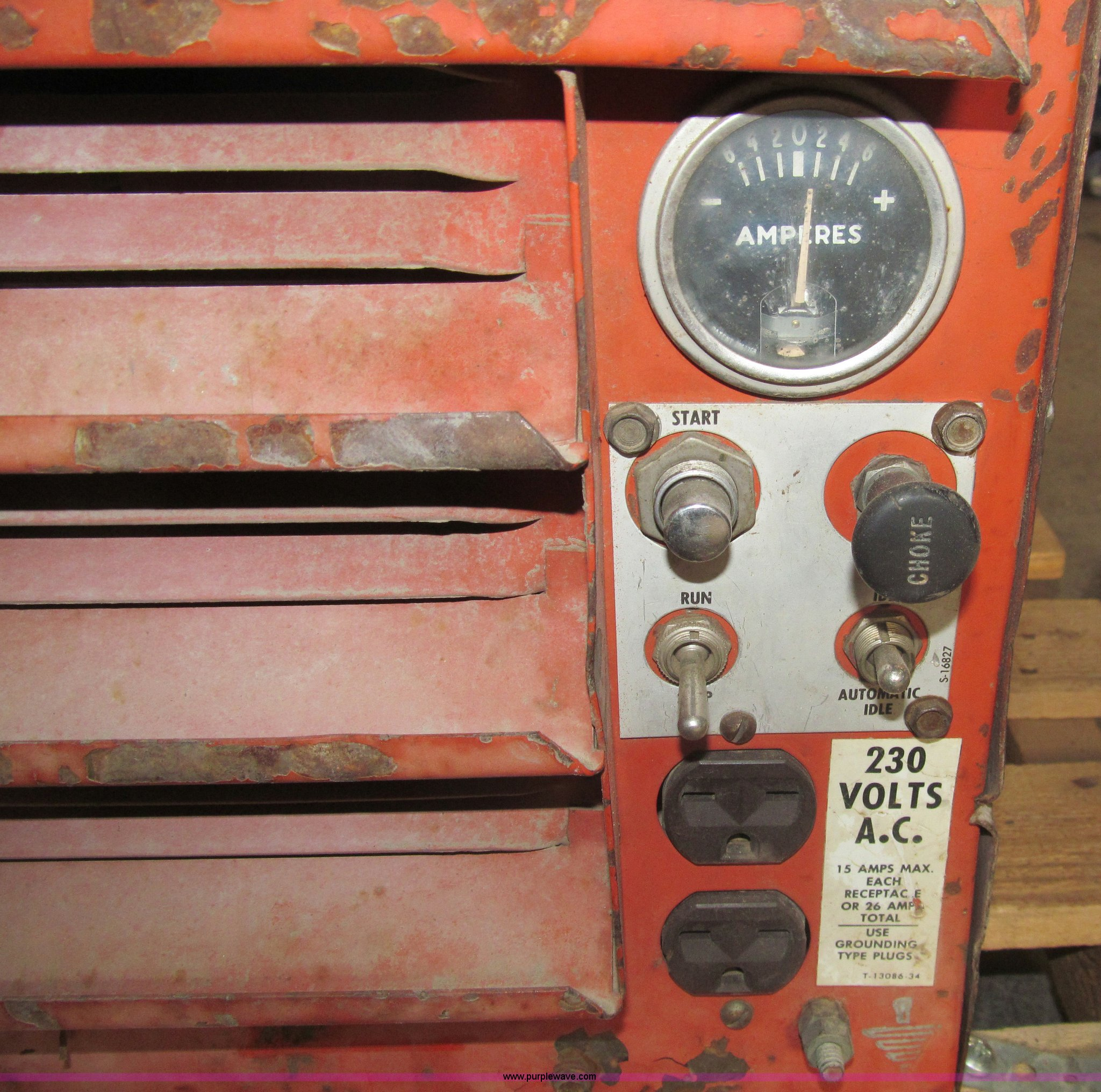 Lincoln Weldanpower AC DC welder Item I7230