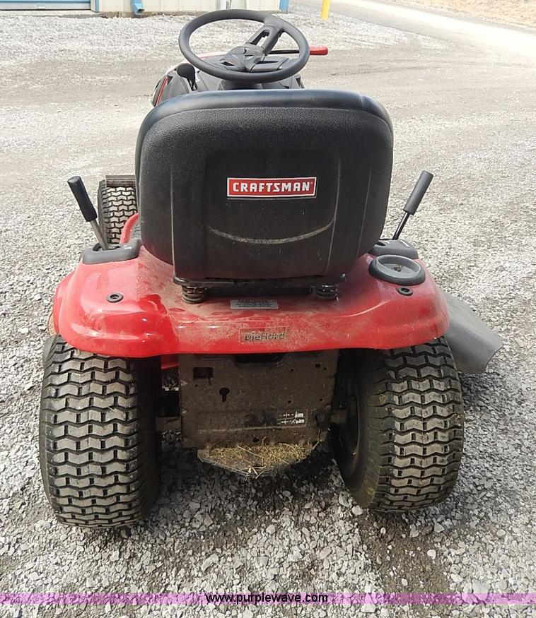 Craftsman YT3000 lawn mower | Item AQ9249 | SOLD! April 2 Ve