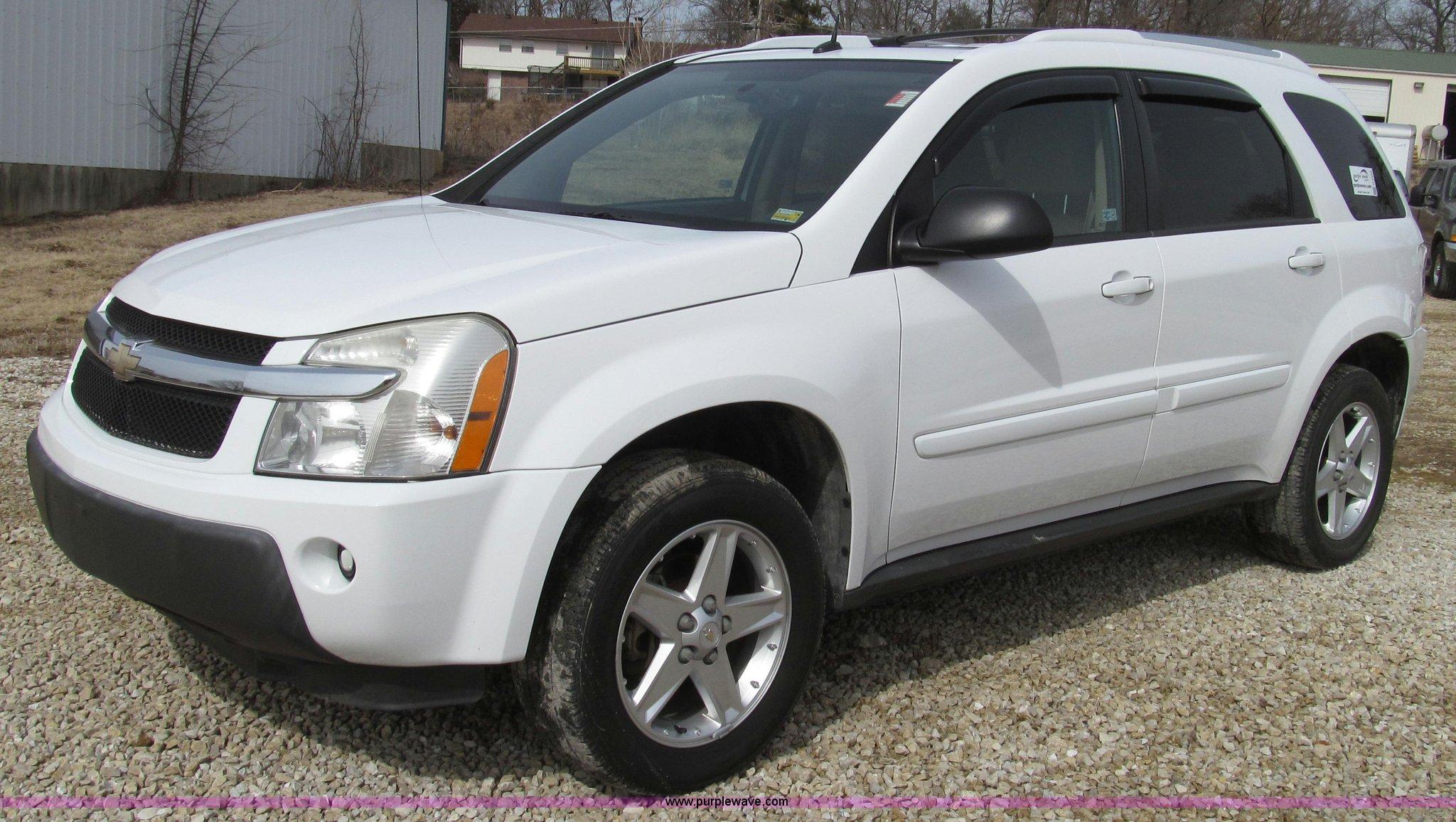 Nice ... 2005 Chevrolet Equinox LT SUV Full Size In New Window ...