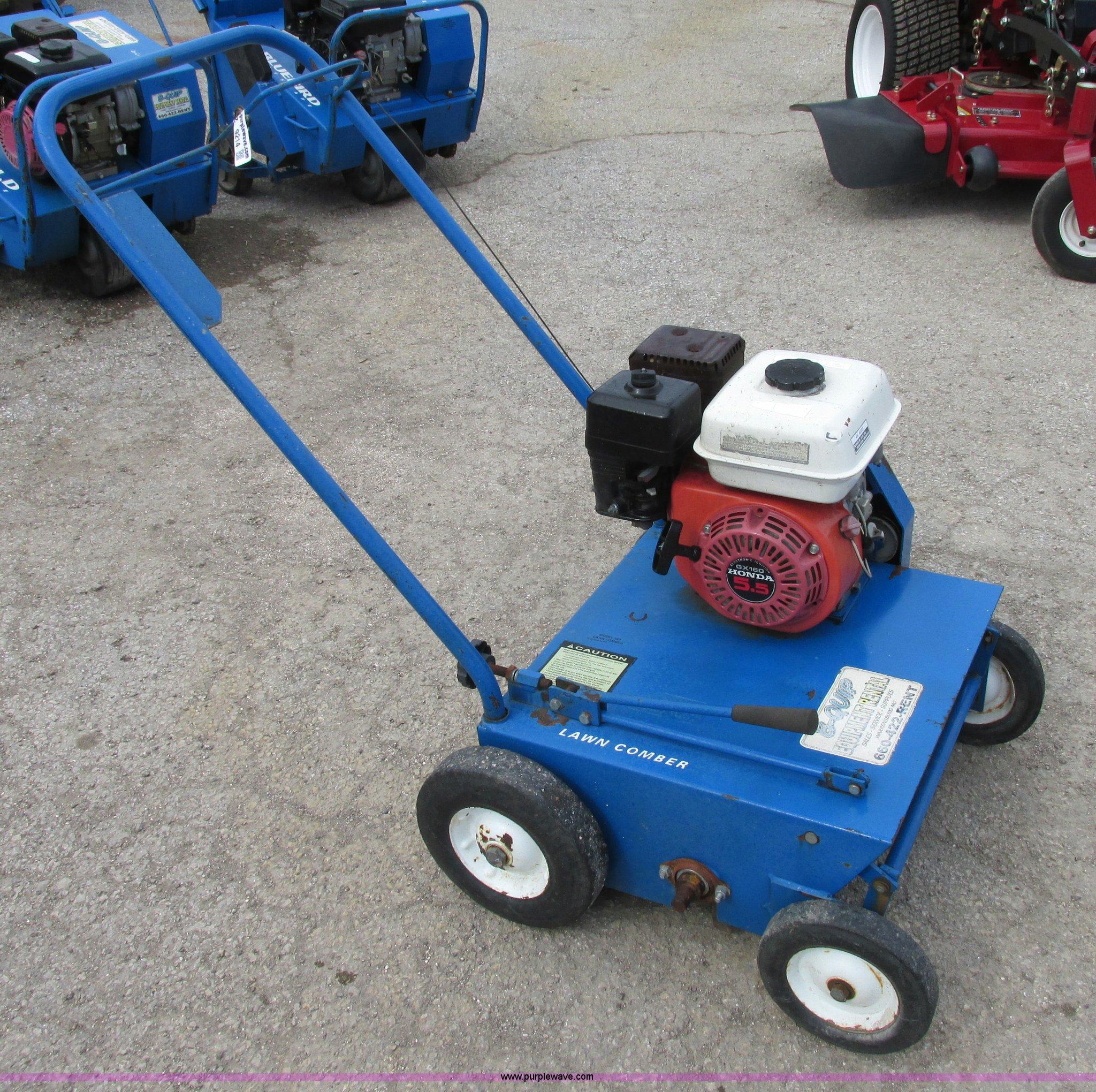 Power Rake For Sale >> Blue Bird 520 Lawn Comber Dethatcher Power Rake Item Z9214