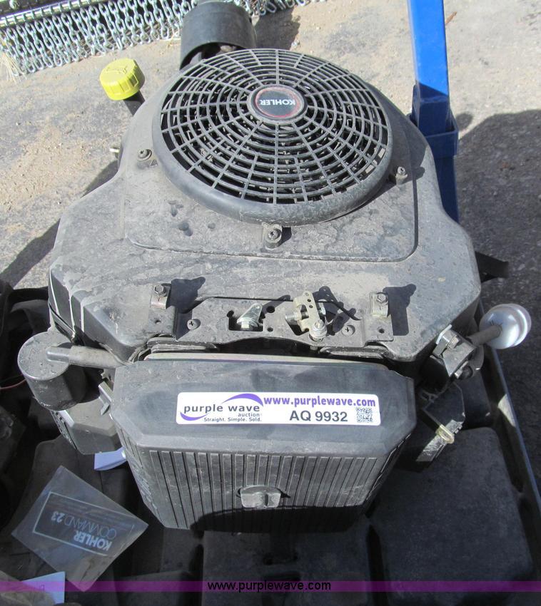Kohler 23 HP gas engine | Item AQ9932 | SOLD! April 9 Ag Equ