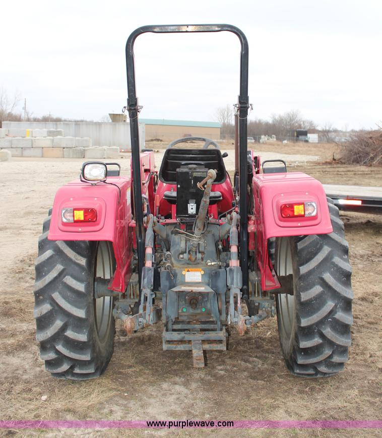 2001 Mahindra 4530 MFWD tractor | Item H6148 | SOLD! April 9