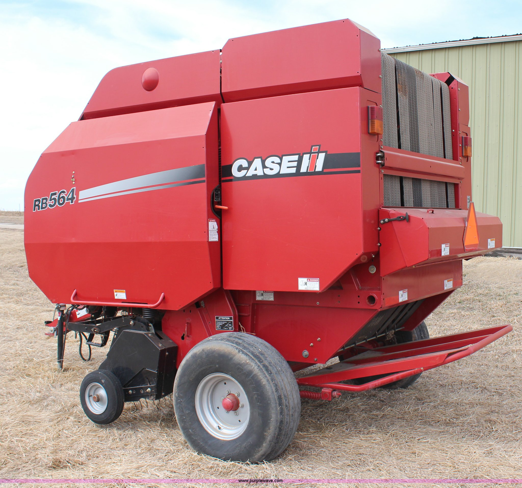 2008 Case IH RB564 round baler | Item H1476 | SOLD! April 9
