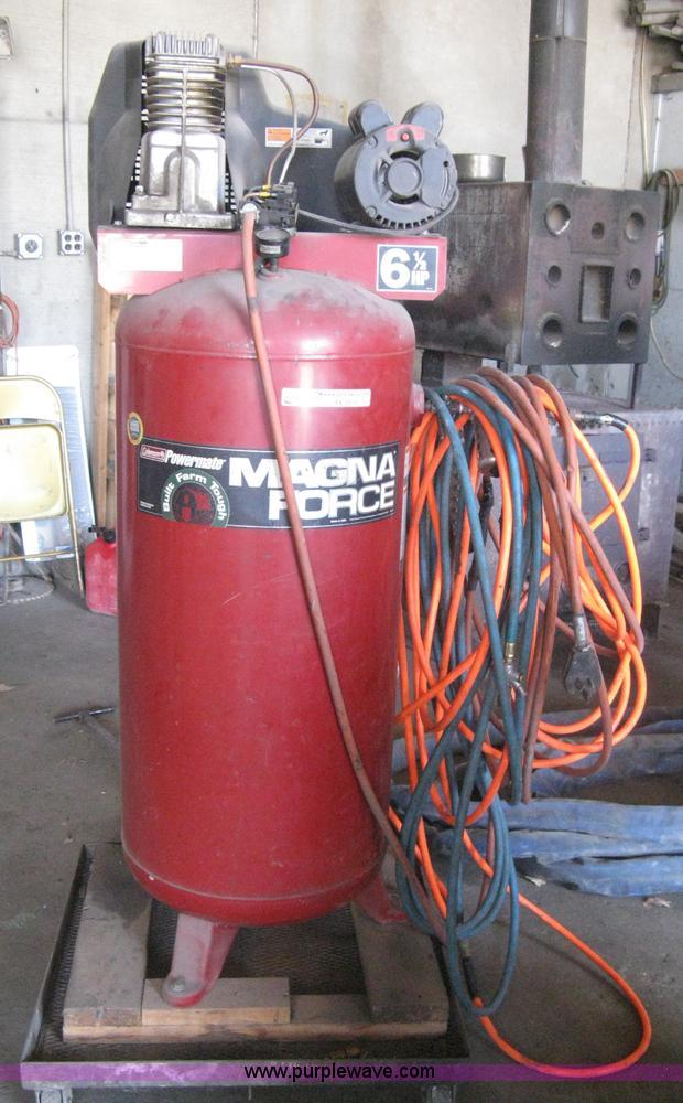 Coleman Powermate Magna Force Air Compressor Item Ax9916