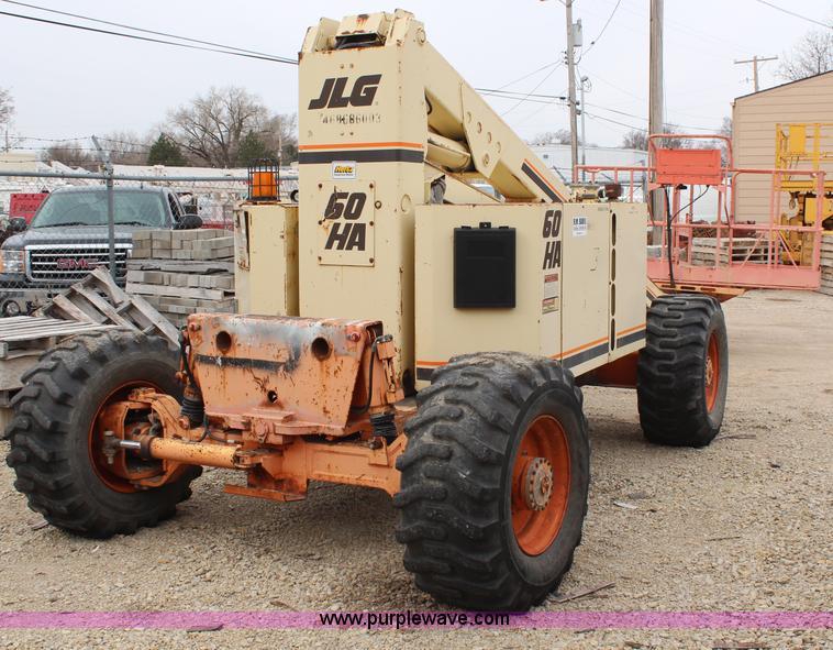 1996 JLG 60HA boom lift   Item H6242   SOLD! April 10 Constr... Jlg H Manlift Wiring Diagram on