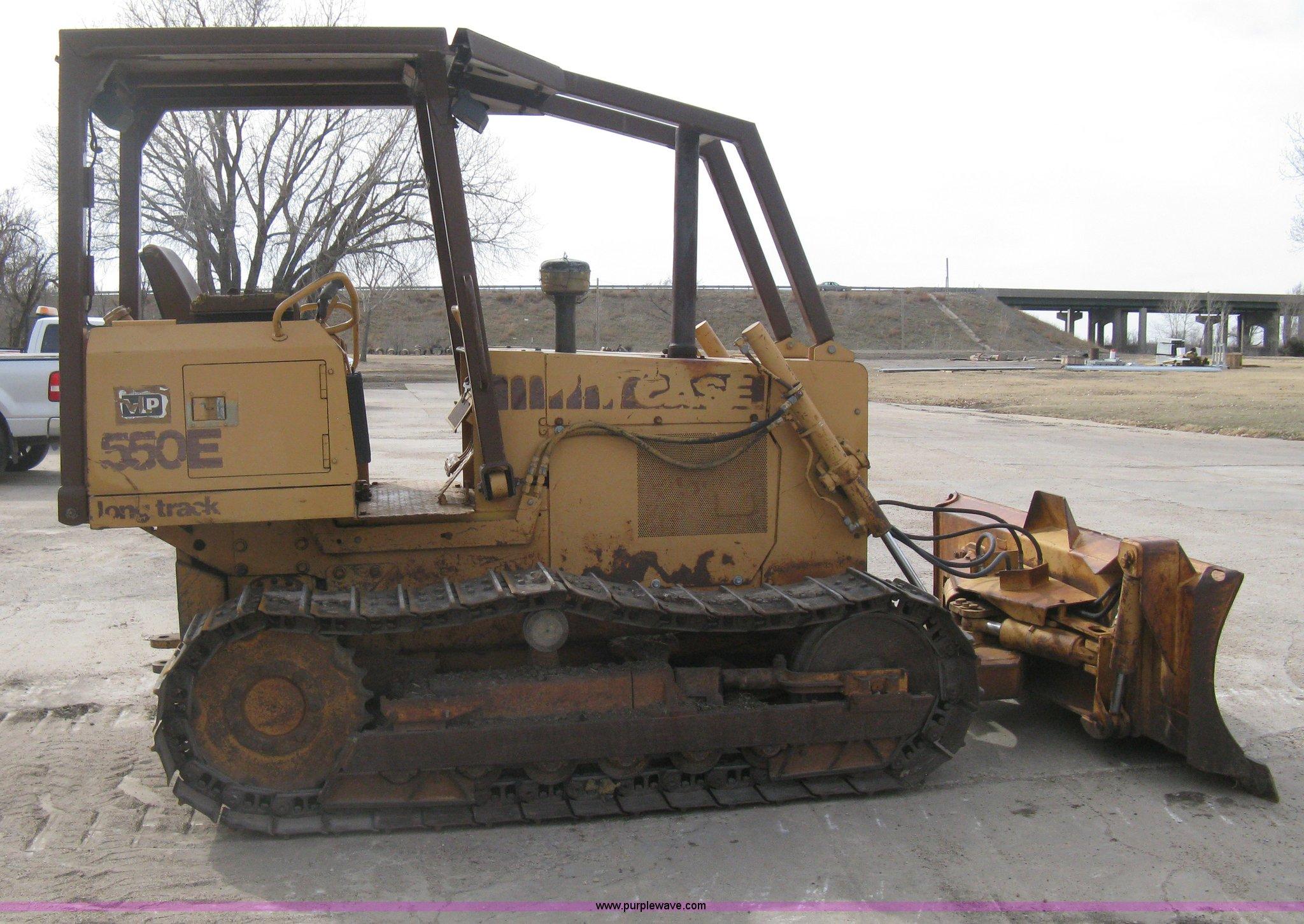 1993 Case 550E long track dozer | Item I5582 | SOLD! April 1
