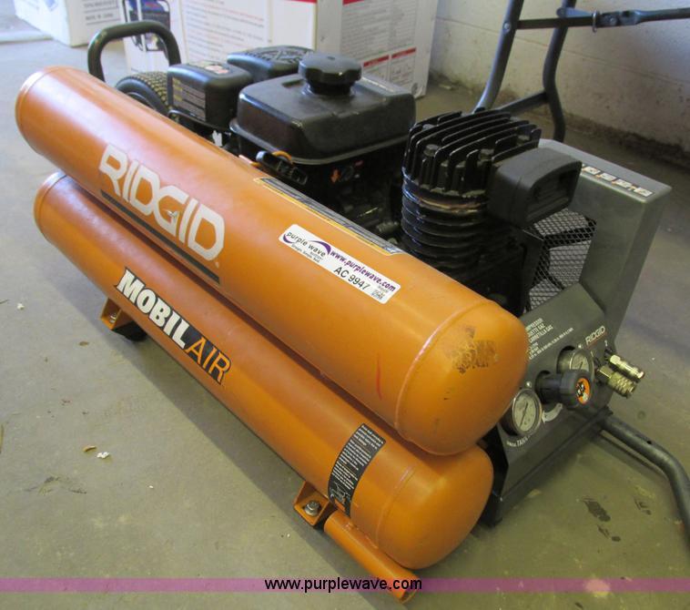 Rigid Gp80145sw Mobile Air Compressor No Reserve Auction