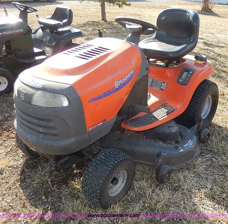 Husqvarna Yth2148 Lawn Mower Item Ax9047 Sold April