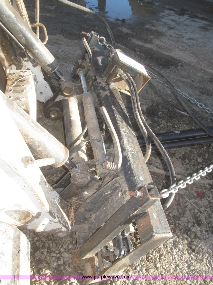 Rotating tree shear/limb trimmer skid steer attachment   Ite