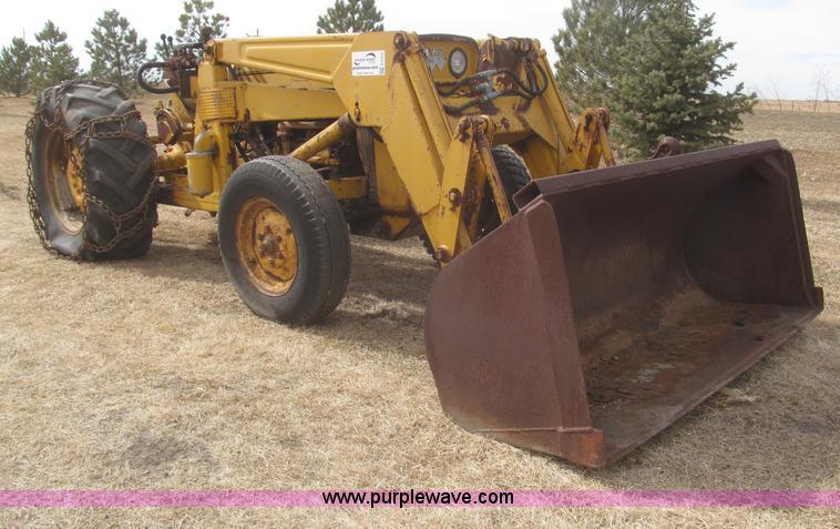 1966 Massey Ferguson Tractor : Massey ferguson work bull mf industrial tractor