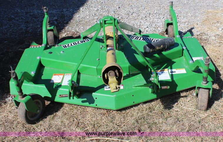 Frontier finish mower Manual