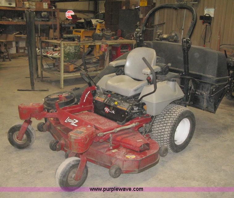 2007 exmark lazer z zero turn mower with bagger item i5542 rh purplewave com Exmark Lazer Z Service Manual Exmark Lazer X Series