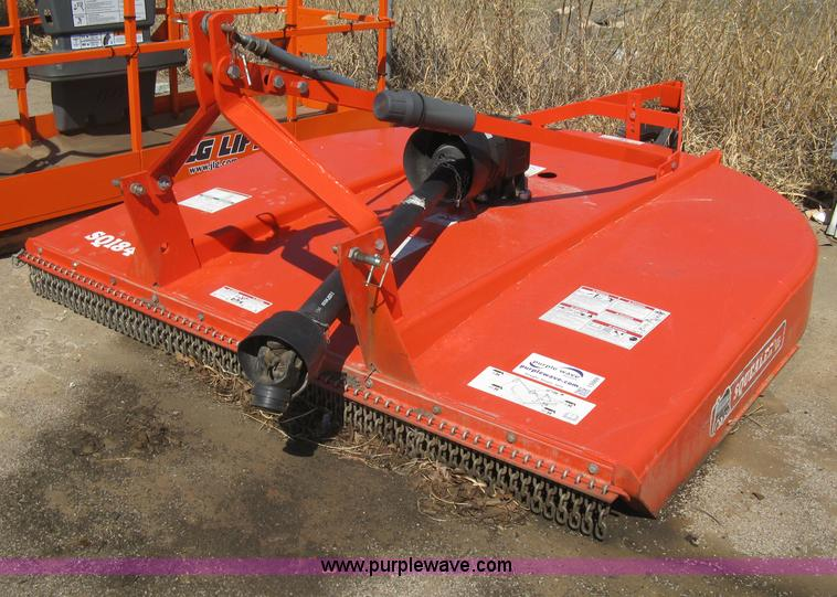 Bush Hog Squealer Sq184 Rotary Mower No Reserve Auction