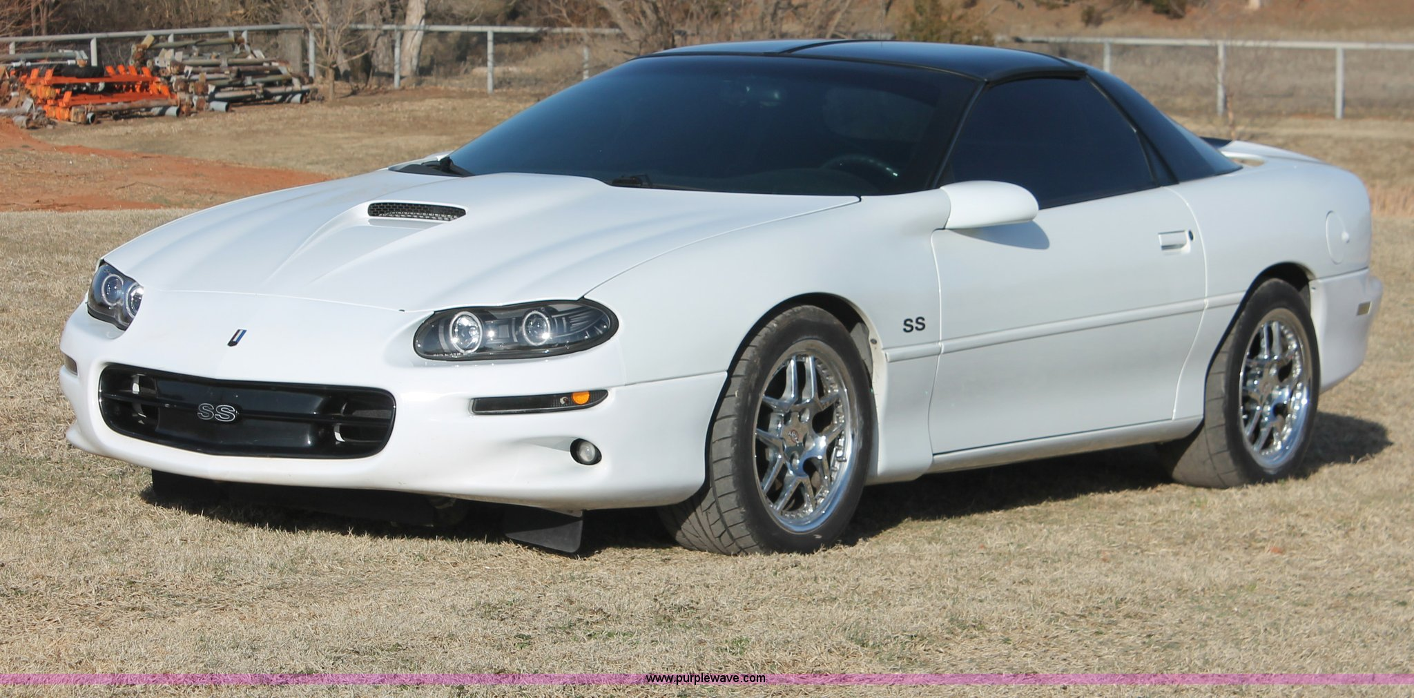 2002 chevrolet camaro z28 ss | item ao9479 | sold! april 16