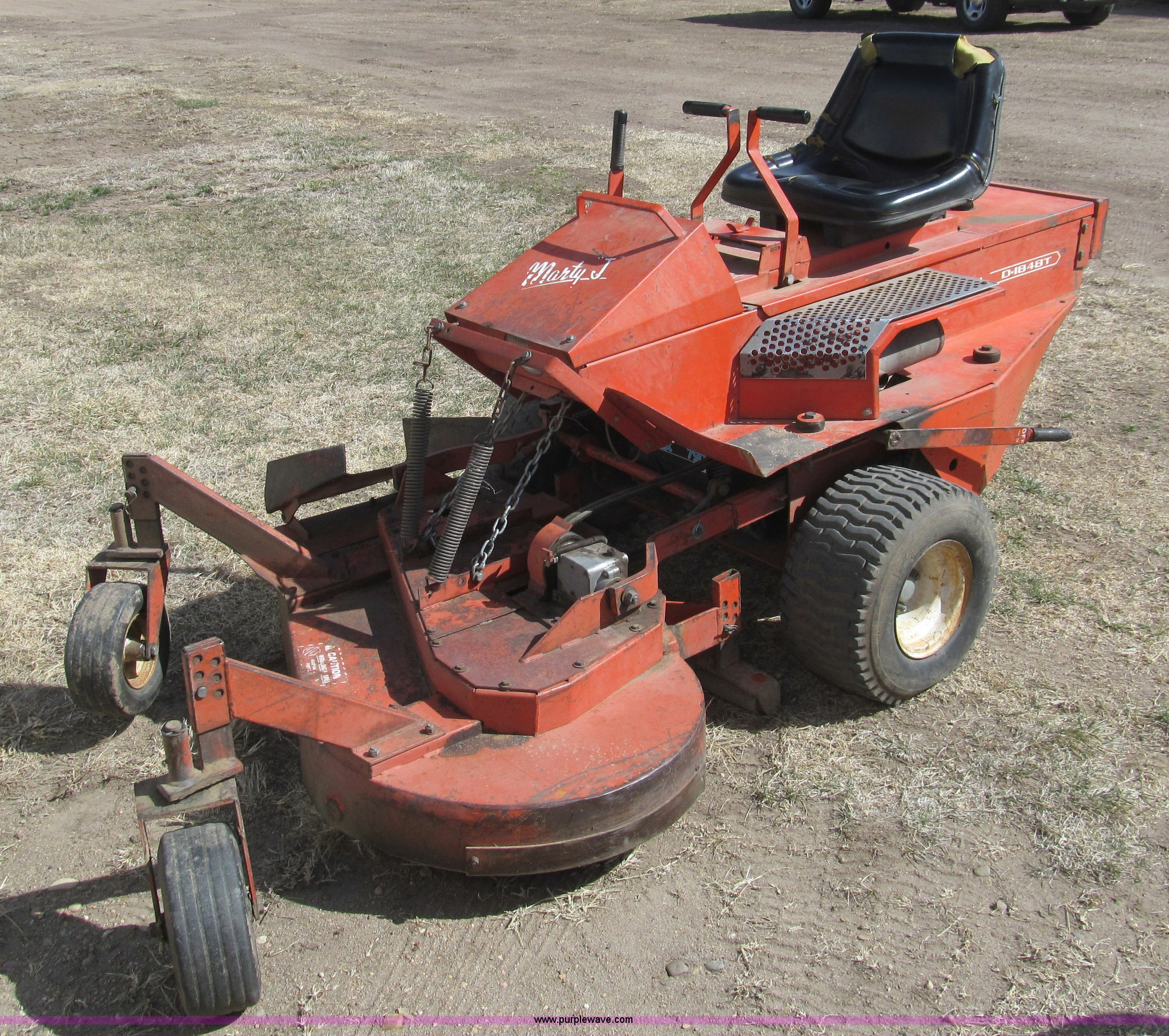 deines marty j d1848t lawn mower item aq9937 sold april rh purplewave com Deines Mowers Dealers deines mower manual