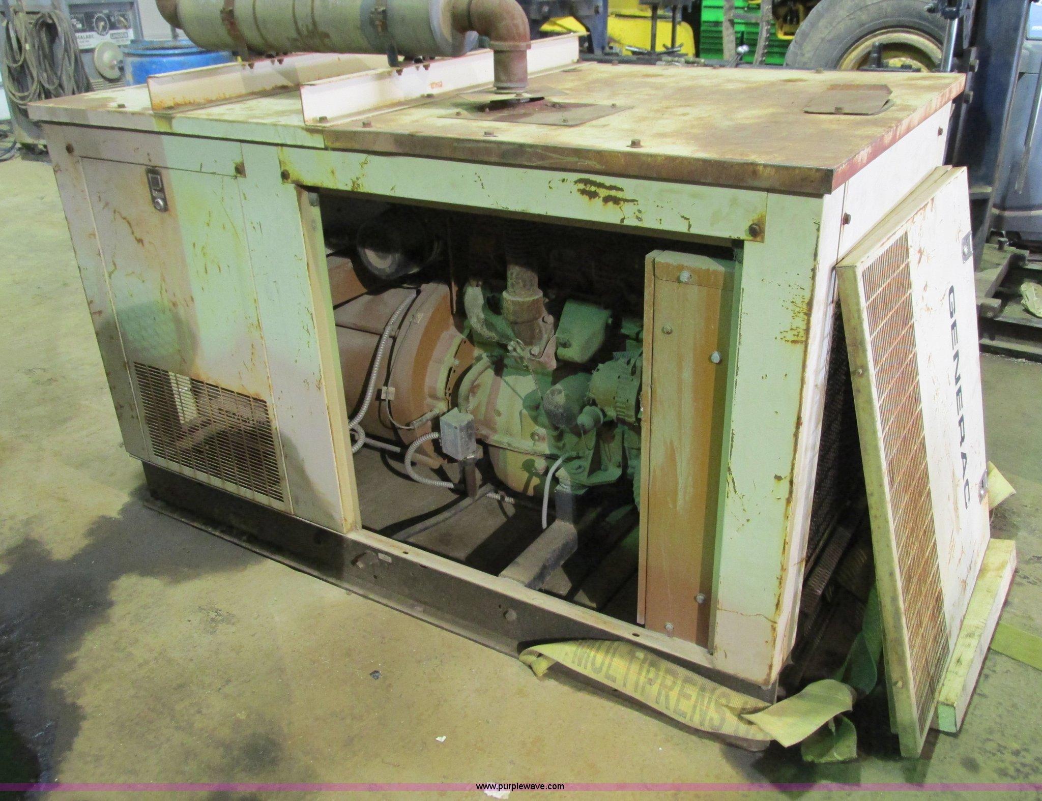 Generac natural gas generator Item G9338