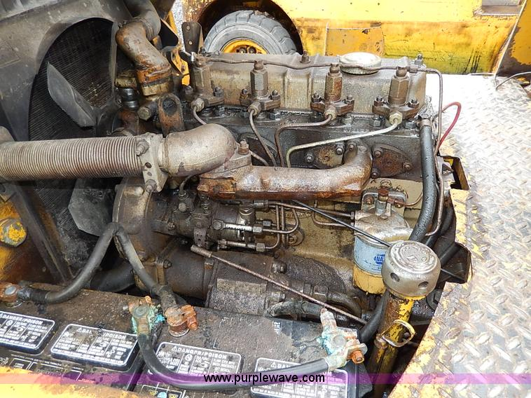 H6210ZD Yale Forklift Ignition Wiring Diagram on