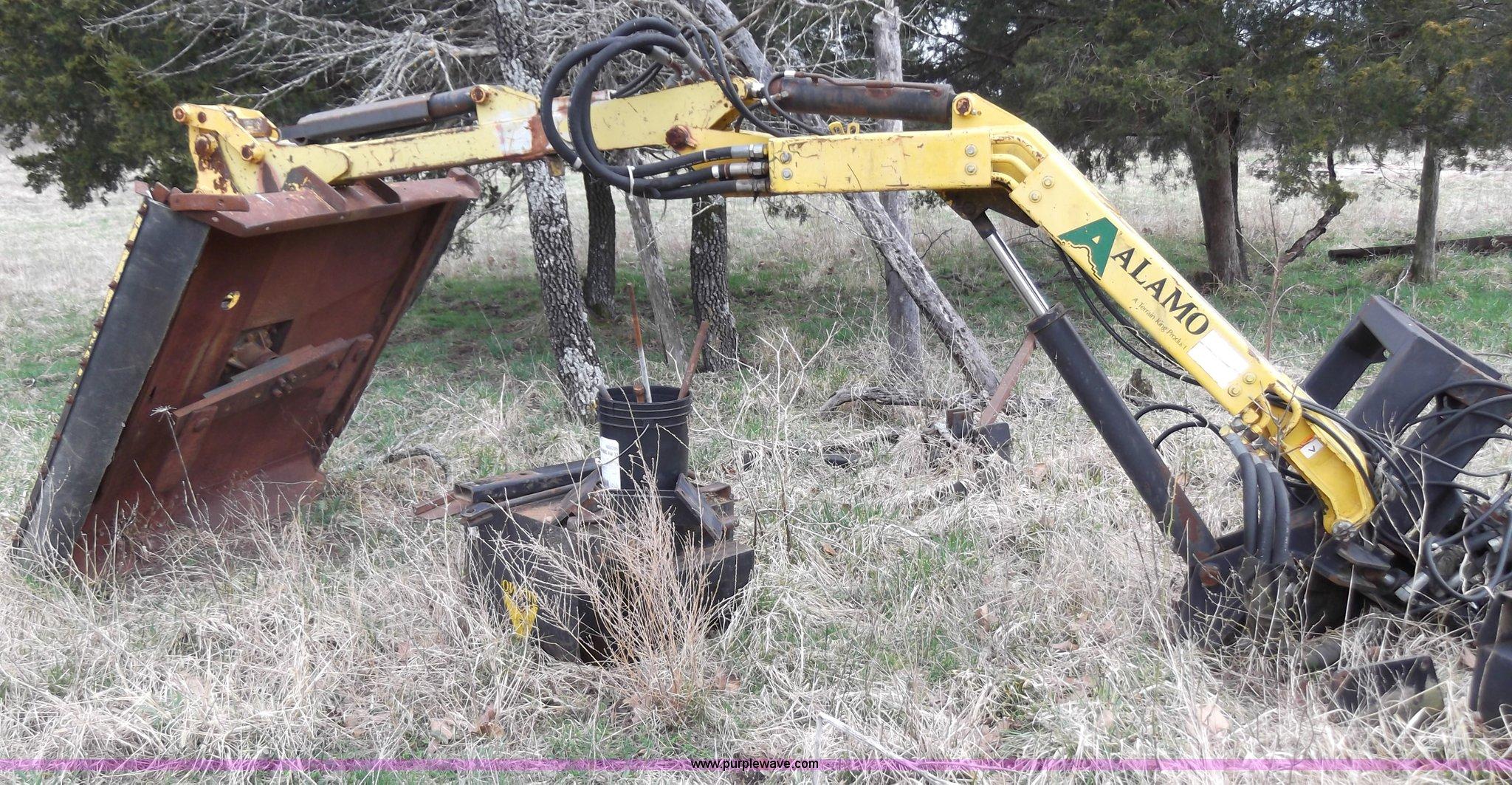 Alamo Side Mount Boom Mower Item C1921 Sold April 23