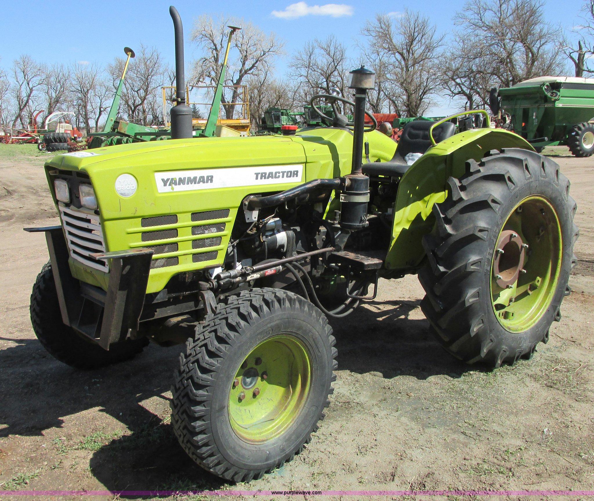 Yanmar Tractor Battery : Yanmar ym d mfwd tractor item g sold april