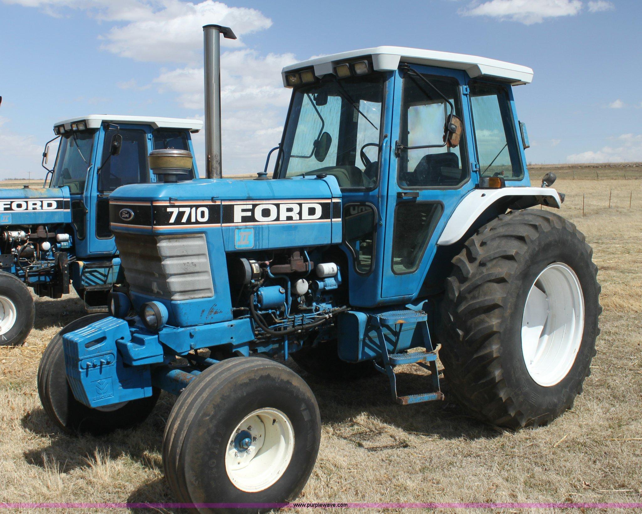 1988 ford 7710 tractor item h2217 sold april 23 ag. Black Bedroom Furniture Sets. Home Design Ideas