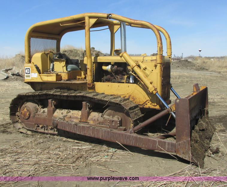 1968 Caterpillar D6C dozer | Item E5416 | SOLD! April 24 Con