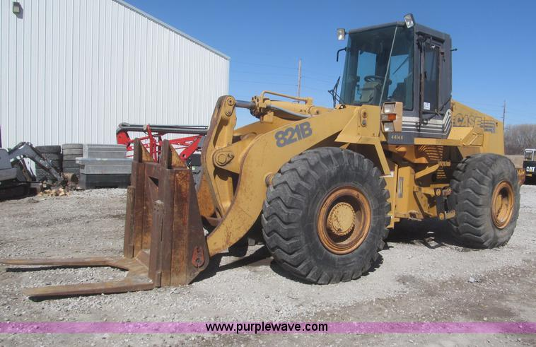 F7319 1997 case 821b wheel loader item f7319 sold! april 24 co  at readyjetset.co